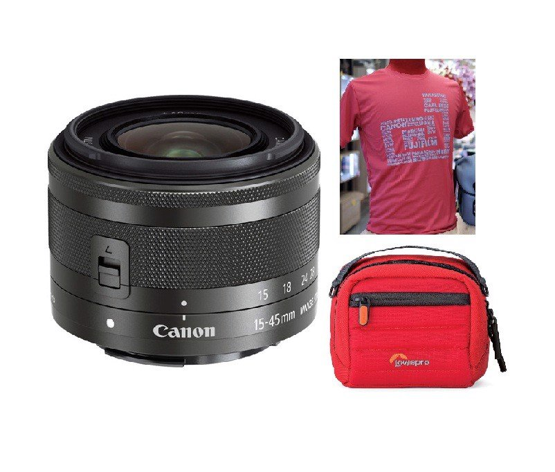 Canon EF-M 15-45mm F3.5-6.3 IS STM ( LBM )