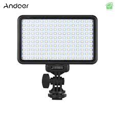 Led Andoer 160 Video Light 6000k 12w CRI 90+