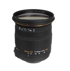 Sigma 17-50mm F2.8 OS for Canon / Nikon