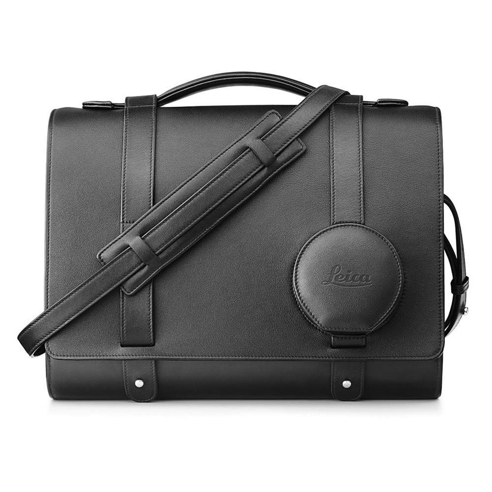 LEICA DAY BAG FOR LEICA Q, LEATHER BLACK