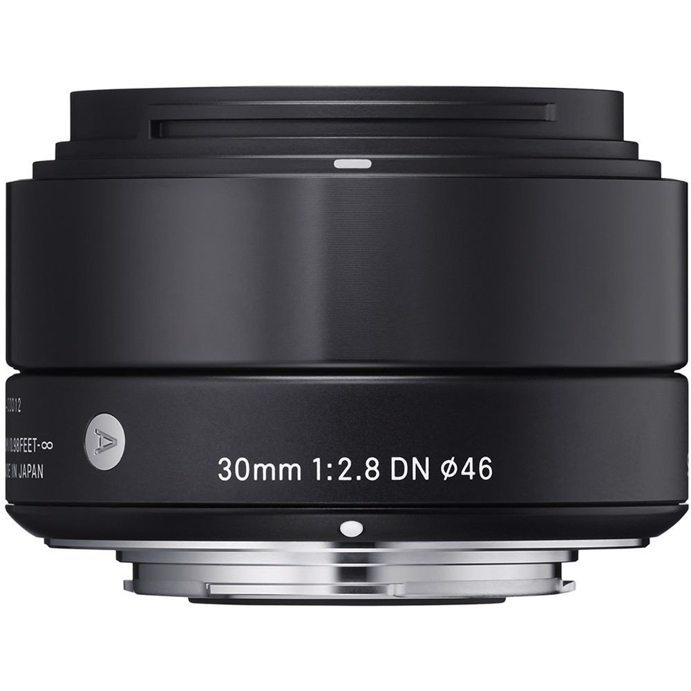 Sigma 30/2.8 DN (Black) for Micro four thirds
