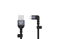 ADAM Elements RC Cable (Gray, Micro USB to USB)