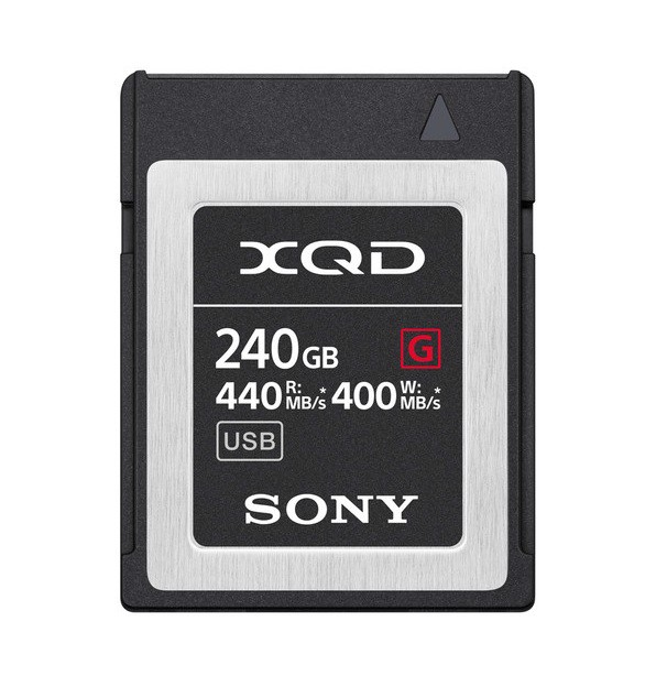 Sony XQD G 240Gb 440mb/s