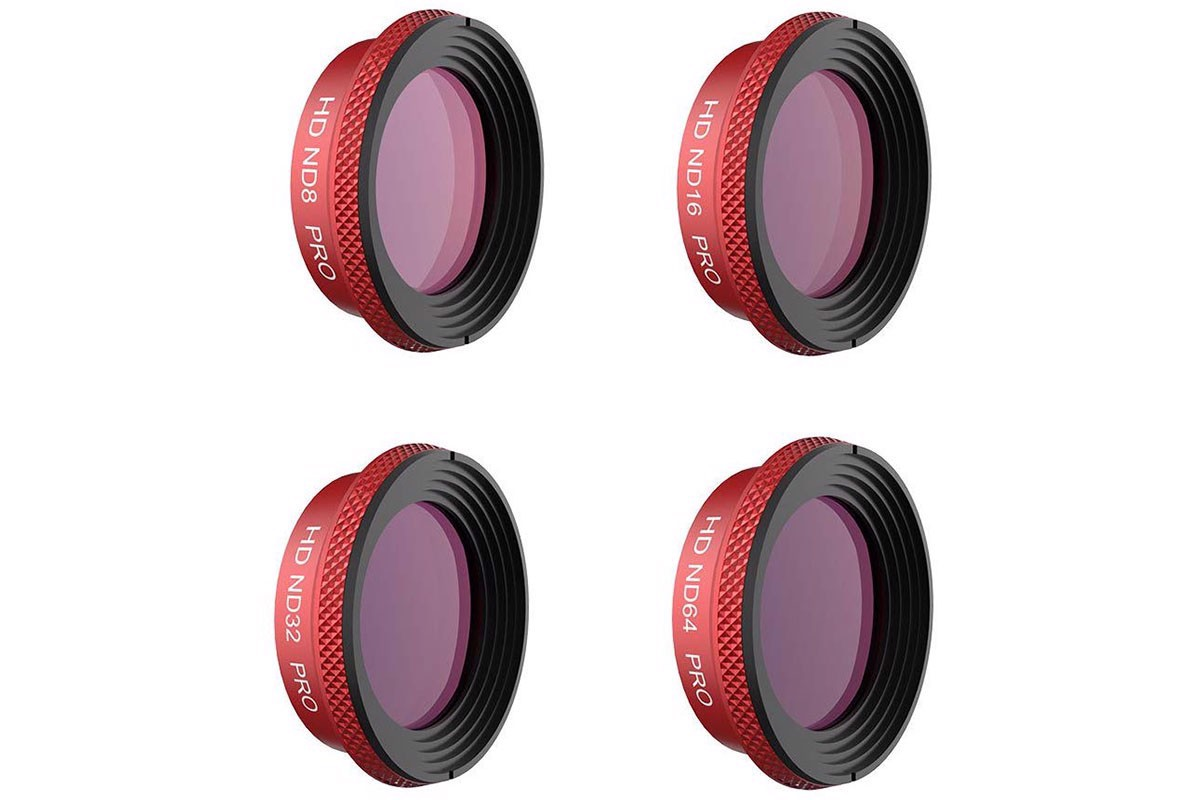 PGYTECH Pro Lens ND Filter Kit 8/16/32/64