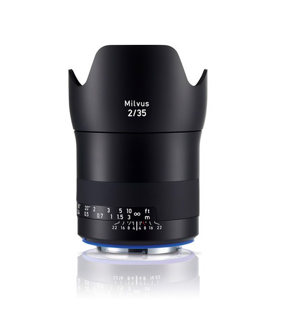 Zeiss Milvus 35mm F2 ZE for Canon