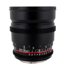 Samyang 16mm T2.2 VDSLR II (Super35/APS-C)