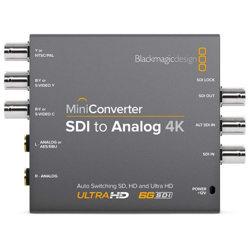 BlackMagic Mini Converter - SDI to Analog 4K