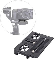 Plate gắn Black Magic trên gimbal Ronin S
