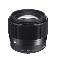 Sigma 56mm F1.4 for Canon Eos M