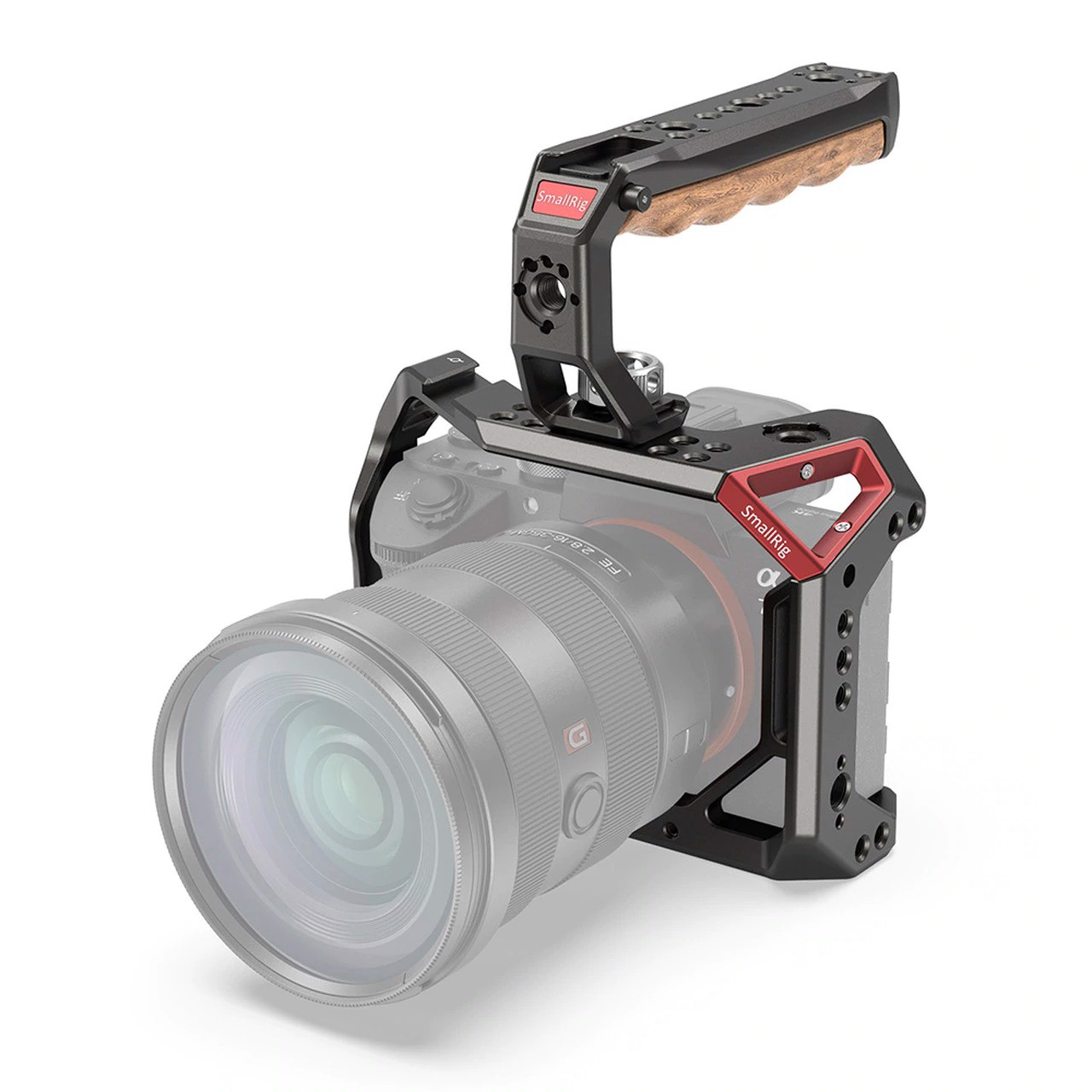 SmallRig Cage & Handle Kit for Sony A7 III KCCS2694 (NRS72)
