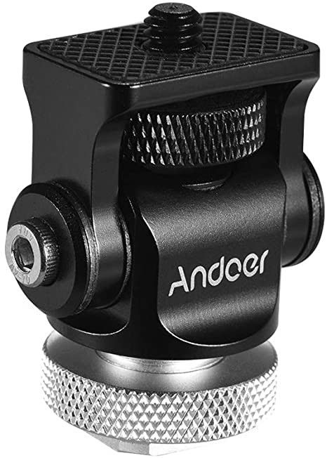 Andoer cold shoe monitor mount