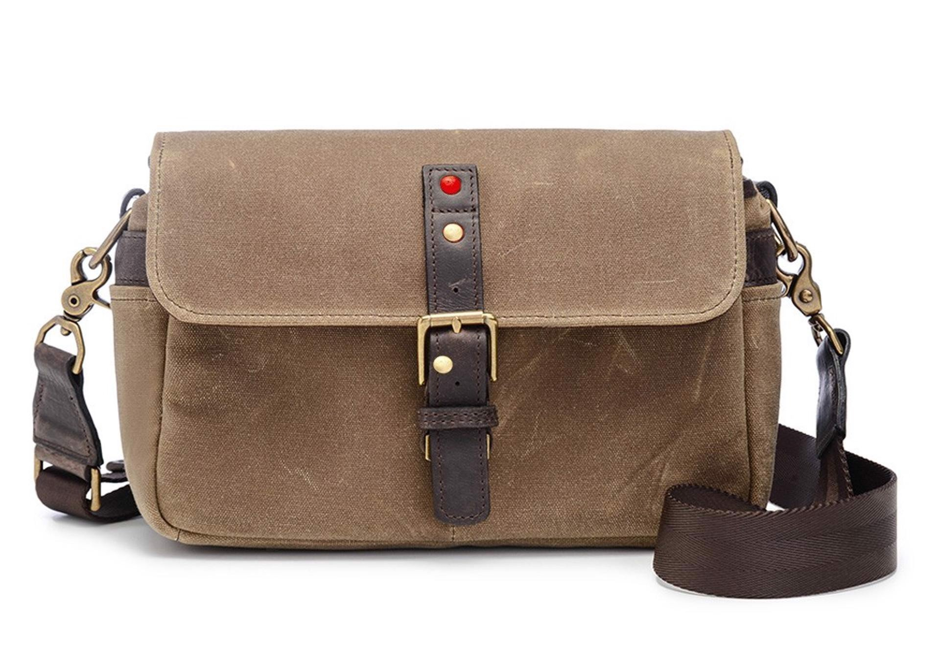 LEICA COLLECTION BY ONA, BOWERY CAMERA BAG - Field Tan