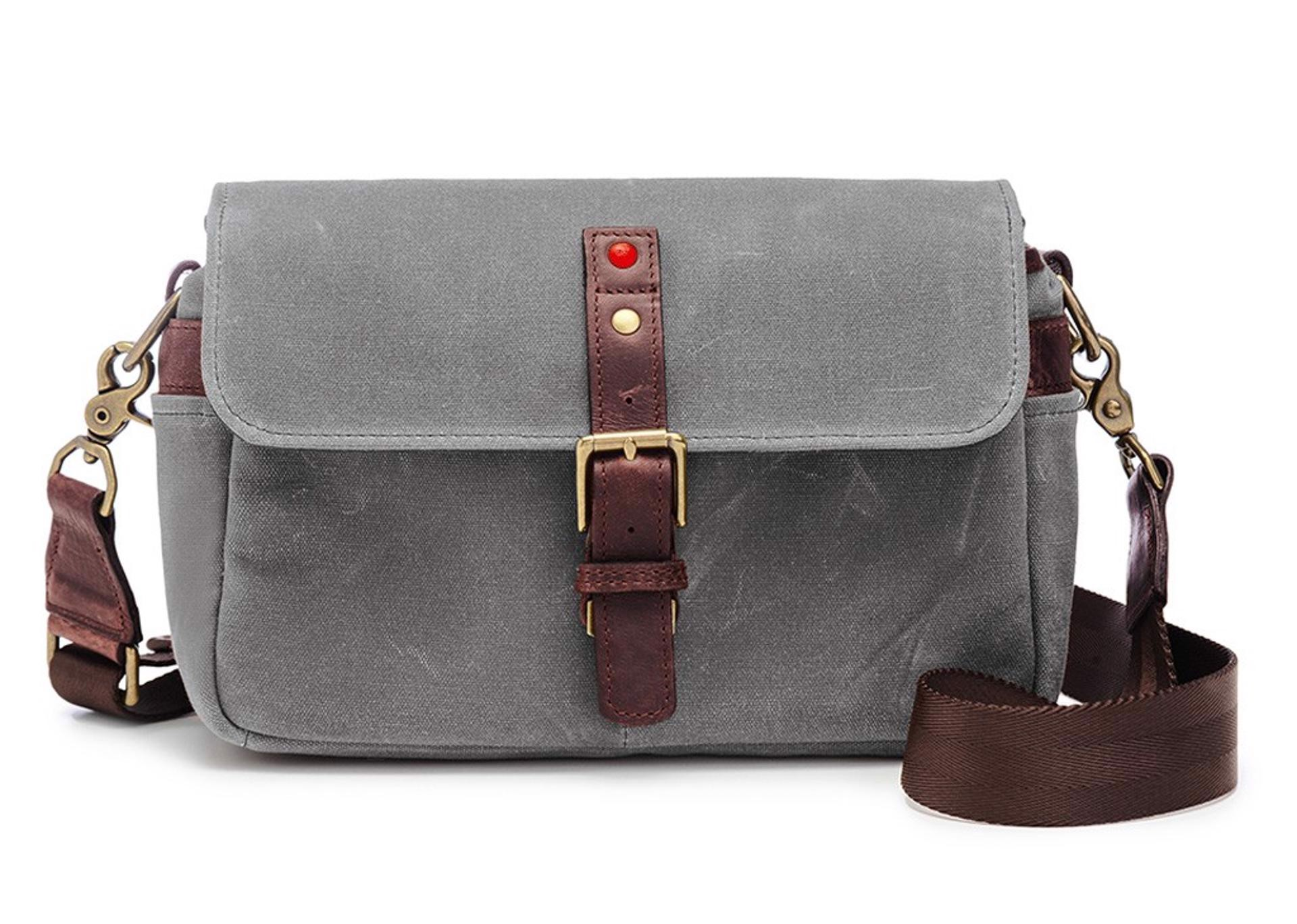 LEICA COLLECTION BY ONA, BOWERY CAMERA BAG - Smoke