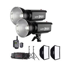 Bộ đèn GODOX DP600 II-D Studio Flash Kit
