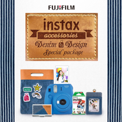 Fujifilm Instax Mini 9 Denim Special Kit