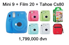 Fujifilm Instax Mini 9 + Film 20 + Tahoe CS80