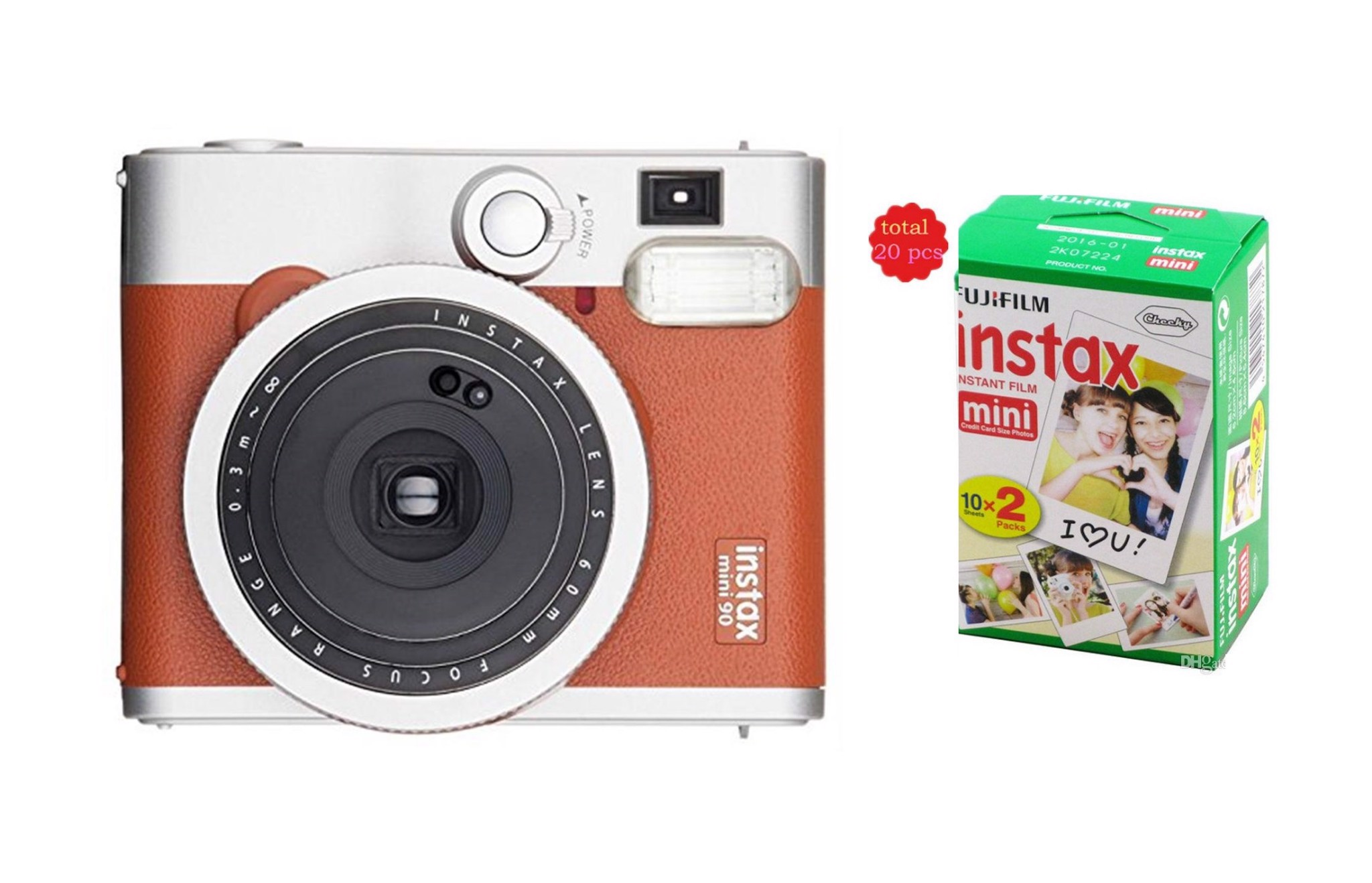 Fujifilm Instax Neo 90 ( Brown ) + Film 20