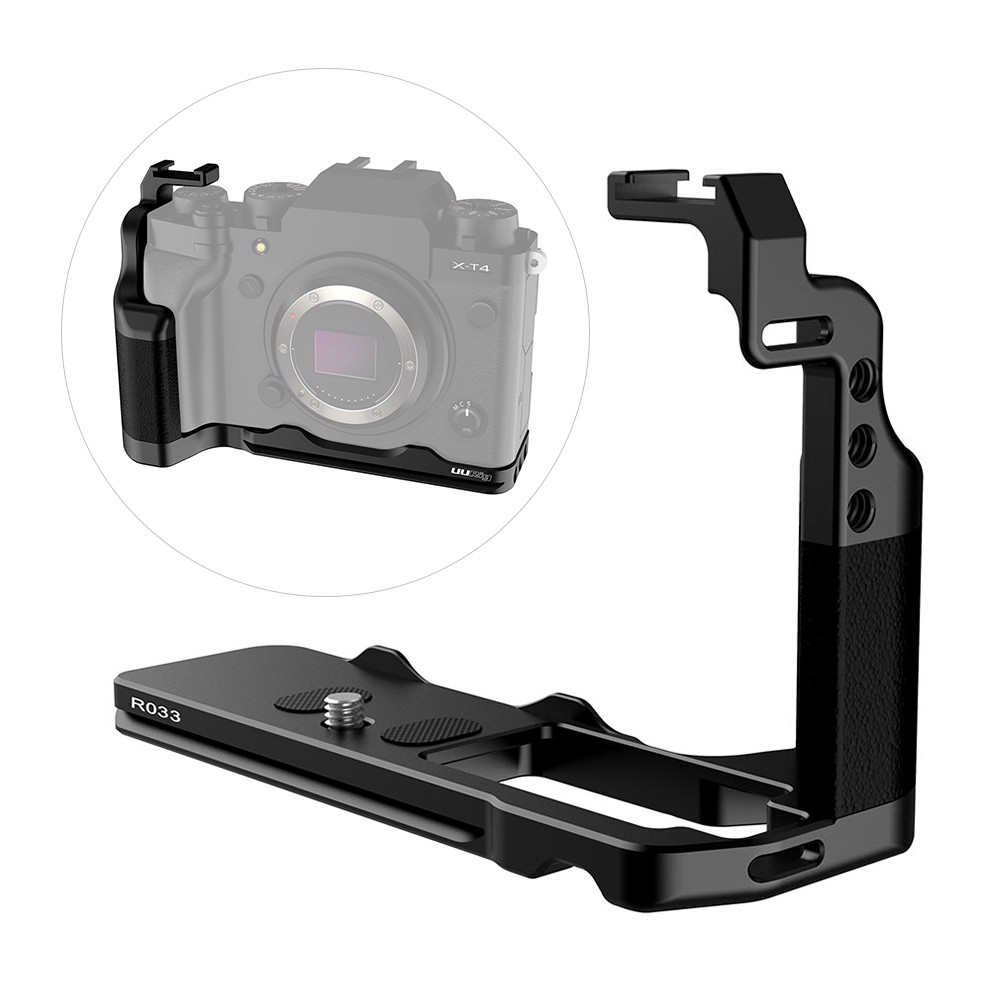 Uurig R033 Metal L Plate for Fujifilm X-T4