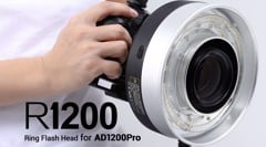 Đầu Đèn Godox R1200 Ring Flash Head For AD1200Pro