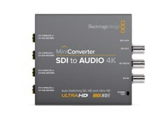 Black Magic Mini Converter - SDI to Audio 4K