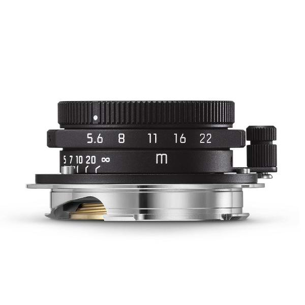 Leica Summaron-M 28mm f/5.6, matte black paint
