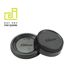 Cap body and Rear cap for Nikon
