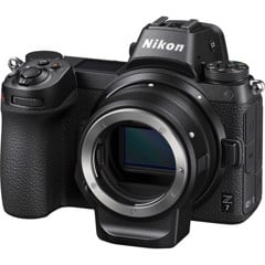 Nikon Z7 with FTZ Mount