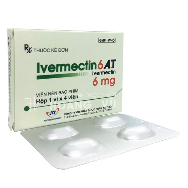 IVERMECTIN 6 AT (T/325H/4v)