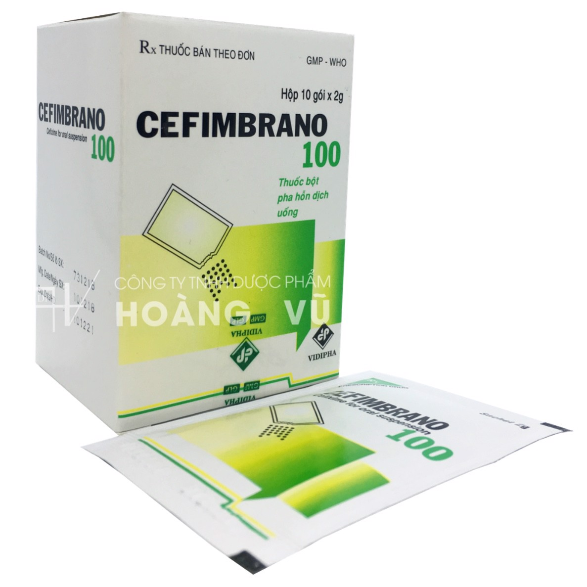 CEFIMBRANO 100 (T/200H/10G)