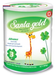 SANTA GOLD 3 ADVANCE (1 - 10 tuổi) (T/12L/900gr)