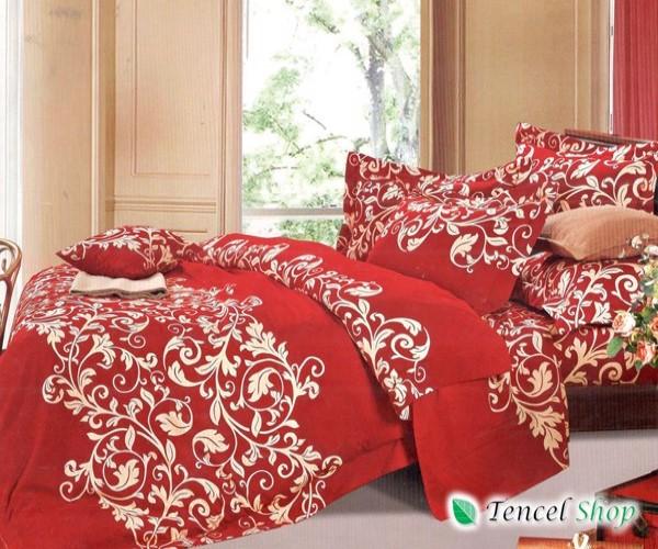 Bộ chăn ga gối cotton lụa Hàn Quốc  - CTL 1137