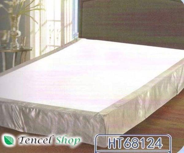 Ga rèm phủ đệm lò xo khách sạn   HT 68124