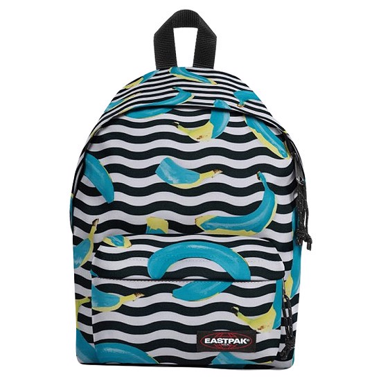 EASTPAK ORBIT (EK04398R) CRAZY BANANAS (33.5 x 23 x 15 cm)
