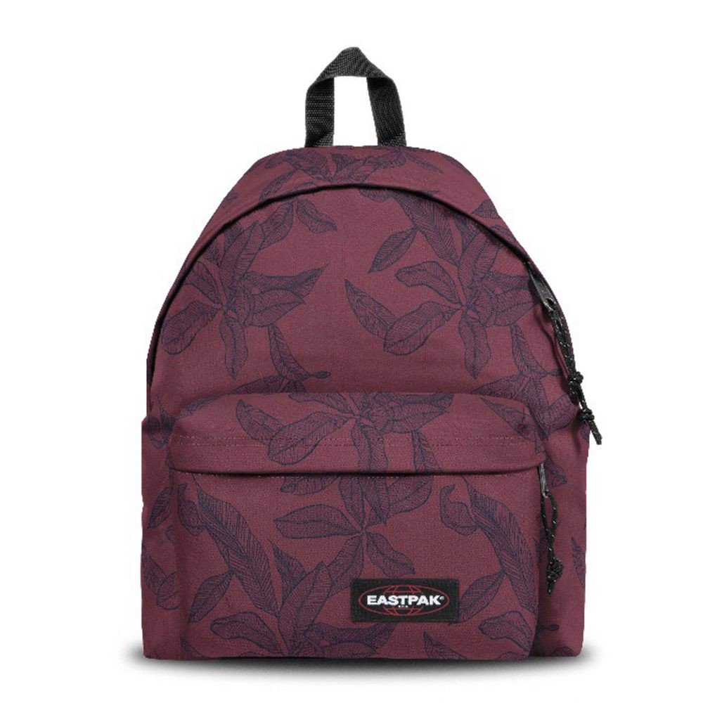 EASTPAK PADDED PAK'R (EK62044T) LEAVES MERLOT (40 x 30 x 18 cm)