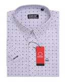 SHORT SLEEVES SHIRT - OCMSCSDWHT 029