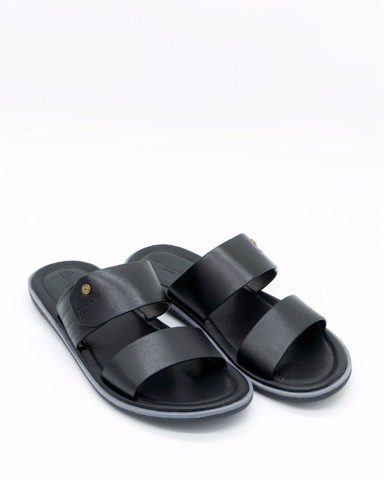 PIERRE CARDIN SANDALS - LEATHER THONGS - PCMFWLE 131