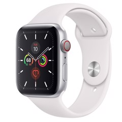 Apple Watch Sr6-44mm SIlver LTE US new 100% nobox