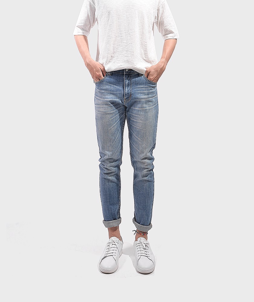 Quần Jean Nam Form Slim Fit - QJ112047