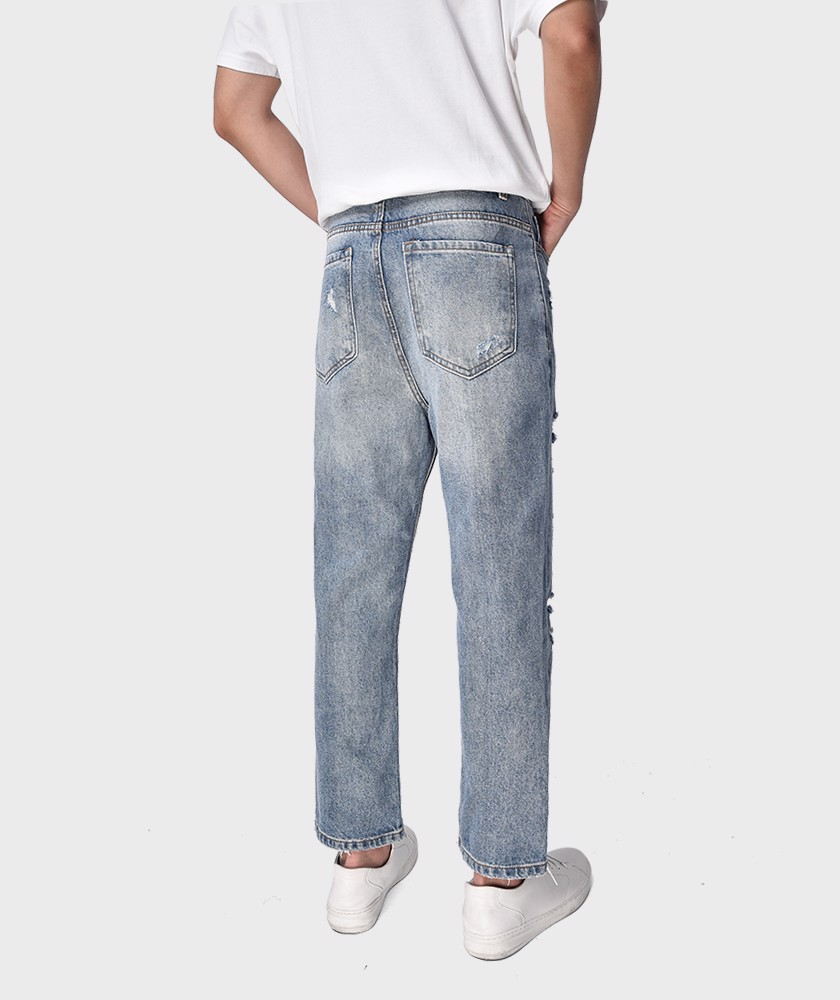 Quần Jean Nam Form Loose Fit - QJ21800
