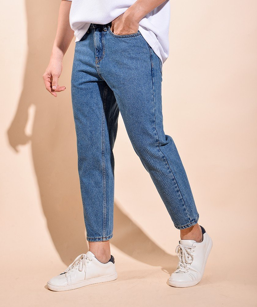 Quần Jeans Nam Form Straight 10S20DPA036