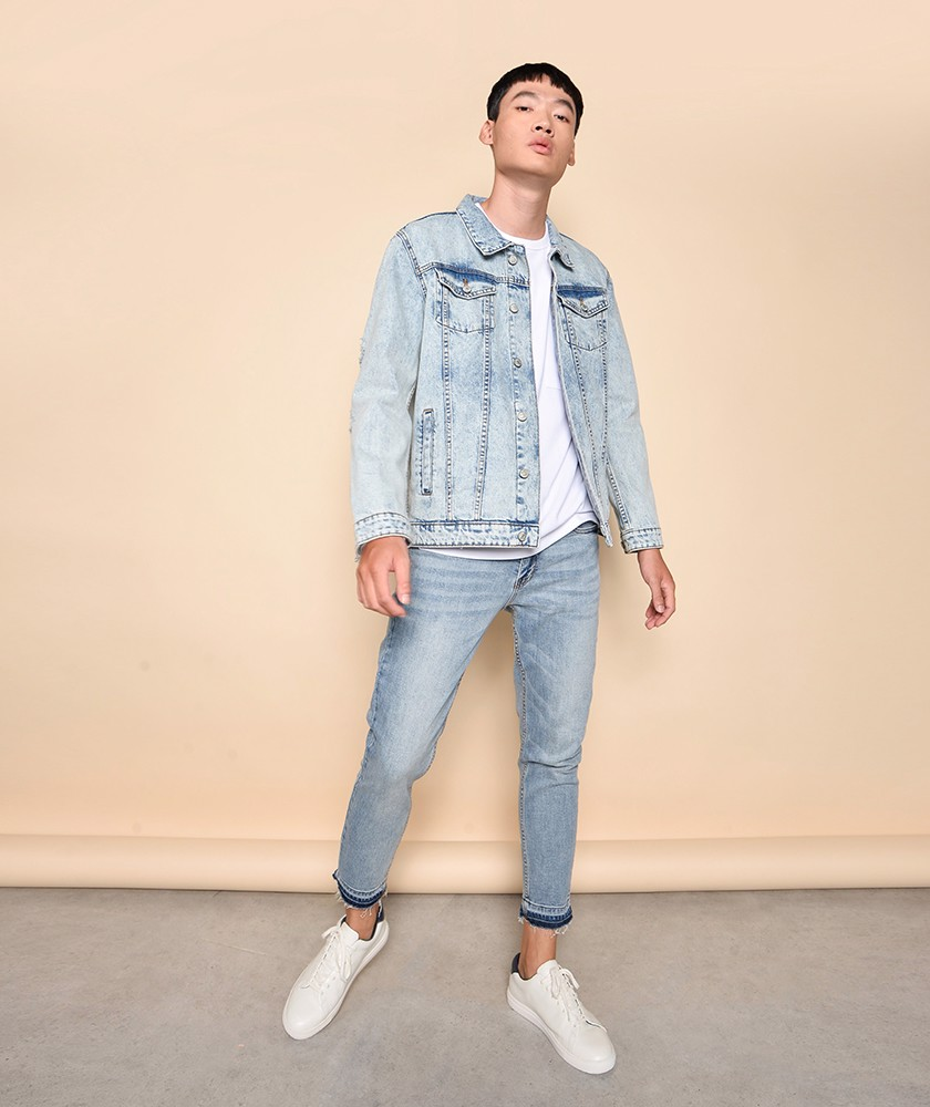 Áo Khoác Nam Jacket Denim Regular - AK1042052