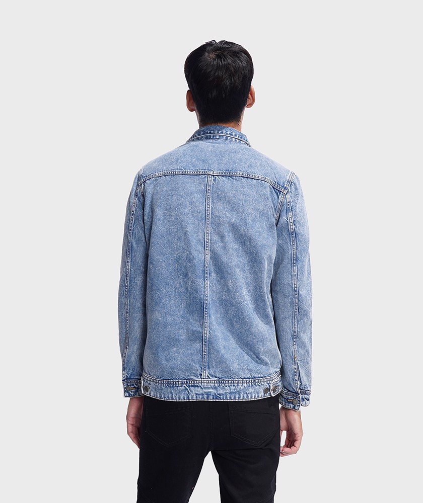 Áo Khoác Nam Jacket Denim Regular - AK1042055
