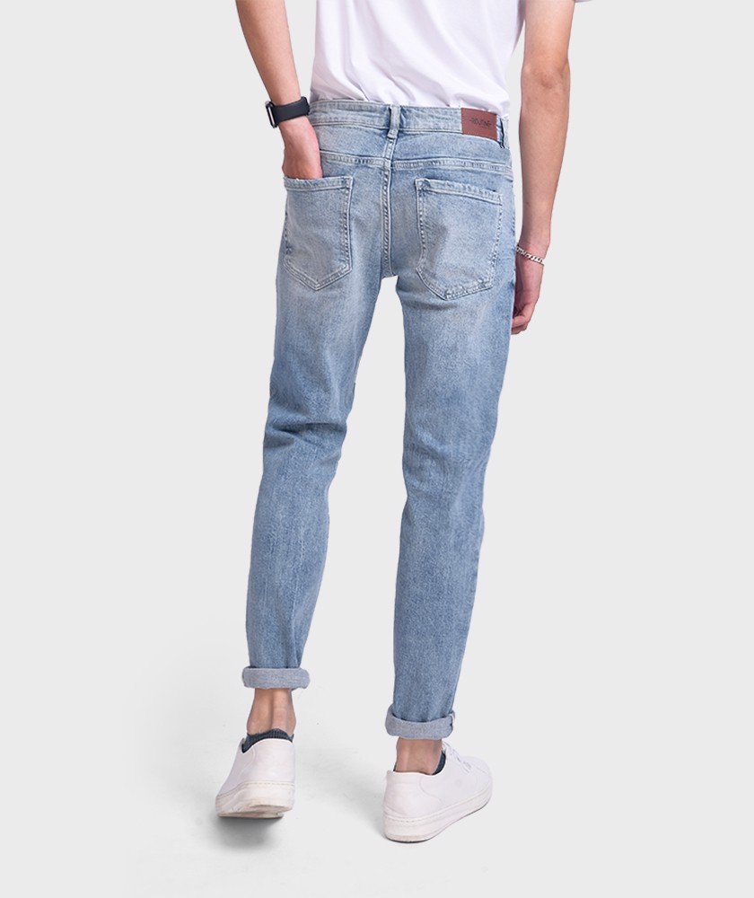 Quần Jean Nam Indigo Form Slim Fit - QJ112048