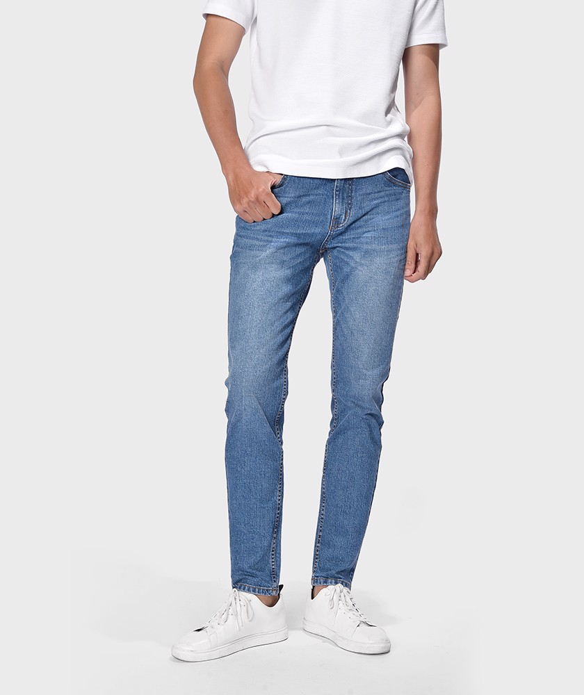 Quần Jean Nam Form Slim Fit - QJ112057