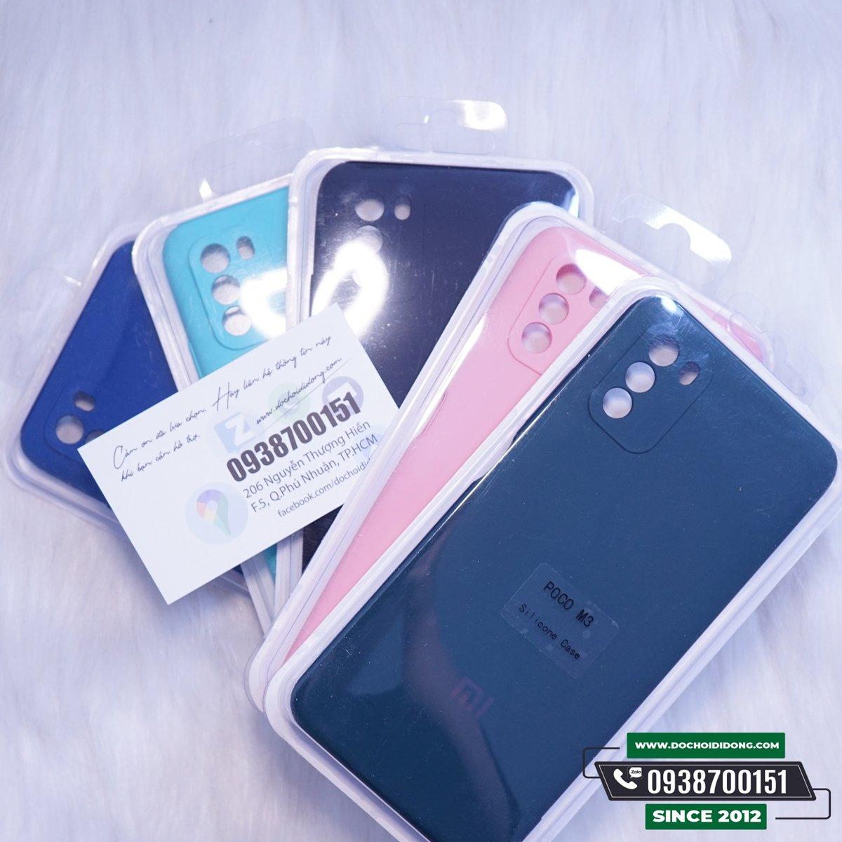 Ốp Lưng Xiaomi Poco M3 Silicon Chống Bẩn Cao Cấp