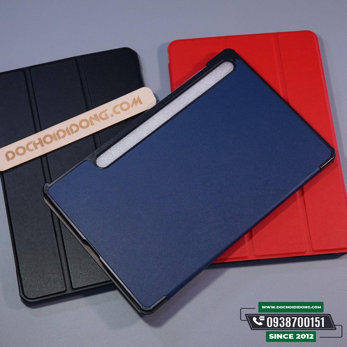 Bao Da Samsung Galaxy Tab S7 T870/875 Và Tab S7+ Plus T970/T975 Dạng Flip Cao Cấp
