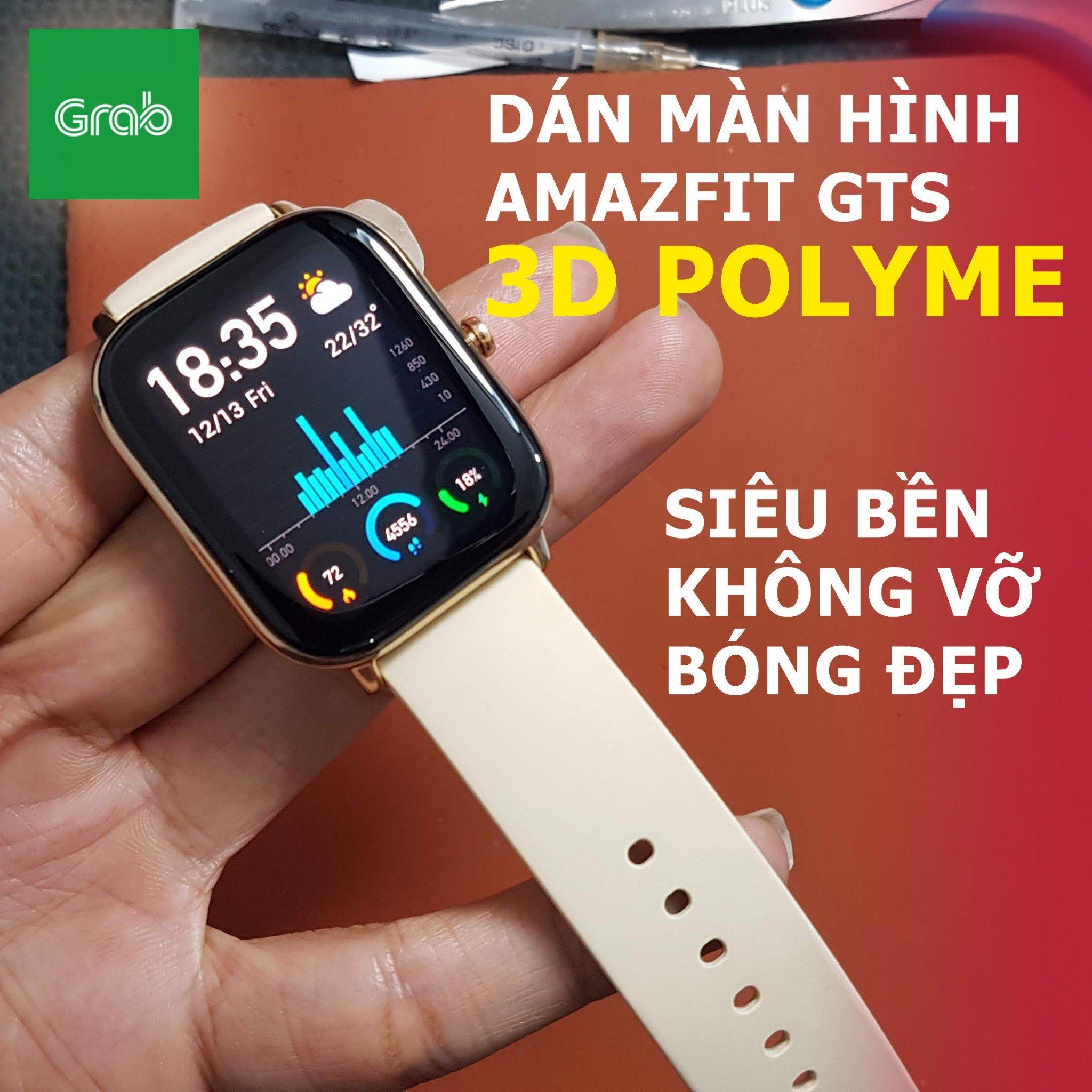 Miếng dán cường lực dẻo Polyme dành cho đồng hồ Xiaomi Amazfit GTS