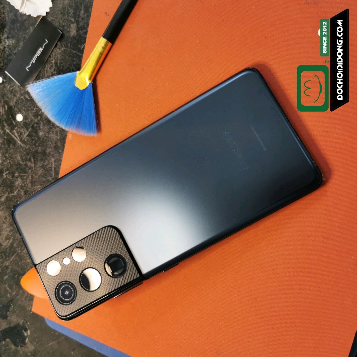 Miếng dán PPF Rock Samsung S21/ S21 PLus / S21 Ultra trong, nhám, đổi màu cao cấp