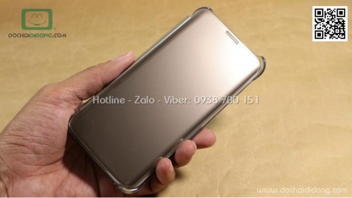 Bao da Clear View Samsung S7 Edge chính hãng