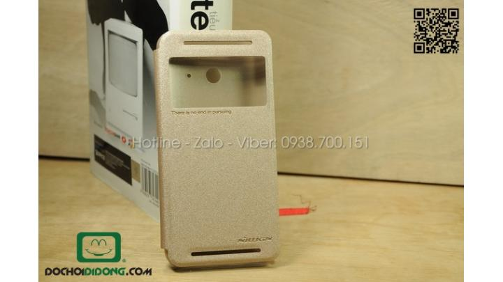 Bao da HTC One E8 Nillkin Sparkle